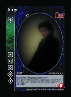 Jorge - Custom Card