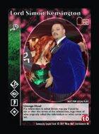 Lord Simon Kensington - Custom Card