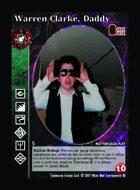 Warren Clarke, Daddy - Custom Card