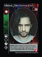 Simon, The Green Eyes - Custom Card