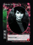 Milena Ferrara - Custom Card