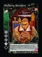 Mathew Dresden - Custom Card