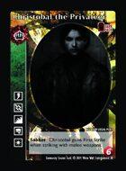 Christobal The Privateer - Custom Card