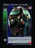 Pants, License To Grill - Custom Card