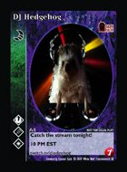 Dj Hedgehog - Custom Card