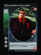 Alessandro Giovanni - Custom Card