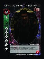 Christof, Vukodlak Diablerist - Custom Card