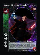 Count Dooku, Darth Tyranus - Custom Card
