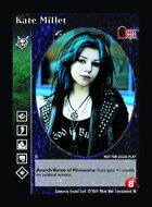 Kate Millet - Custom Card