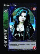 Kate Millet - Custom Card