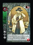 Gielles Fairon, The Pale Rider - Custom Card
