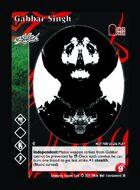 Gabbar Singh - Custom Card