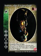 Amon, The Living God - Custom Card