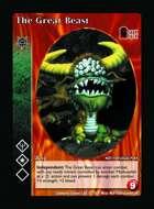 The Great Beast - Custom Card