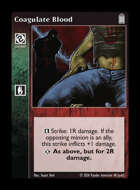 Library - Coagulate Blood - Combat