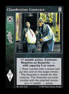 Library - Clandestine Contract - Action