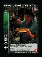 Keeton, Lord Of The Clog - Custom Card