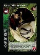 Faust, The Warrior - Custom Card