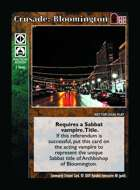 Crusade: Bloomington - Custom Card