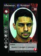 Simmons, El Maldito - Custom Card