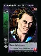 Friedrich Von Willingen - Custom Card