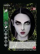 Alice - Custom Card