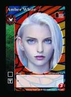Amber White - Custom Card