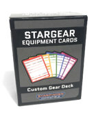 StarGear Equipment Cards: Custom Gear Deck (Starfinder Compatible)