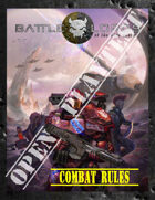 Battlelords of the 23rd Century, 7th Edition - OPEN PLAYTEST - V2 - COMBAT RULES ONLY