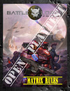 Battlelords of the 23rd Century, 7th Edition - OPEN PLAYTEST - V2 - MATRIX RULES ONLY