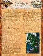 Warbeasts & Wyrms - Tale Spinner One Sheet - Beast of Burden