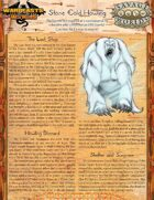 Warbeasts & Wyrms - One Sheet - Stone Cold Howling