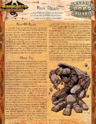 Warbeasts & Wyrms - Tale Spinner One Sheet - Rock Steady