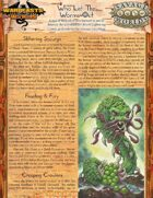 Warbeasts & Wyrms - One Sheet - Who Let The Worms Out