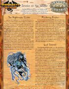 Warbeasts & Wyrms - Tale Spinner One Sheet - Smoke on the Water