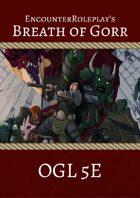 Breath of Gorr: Complete Digital Boxless Adventure (OGL 5E)