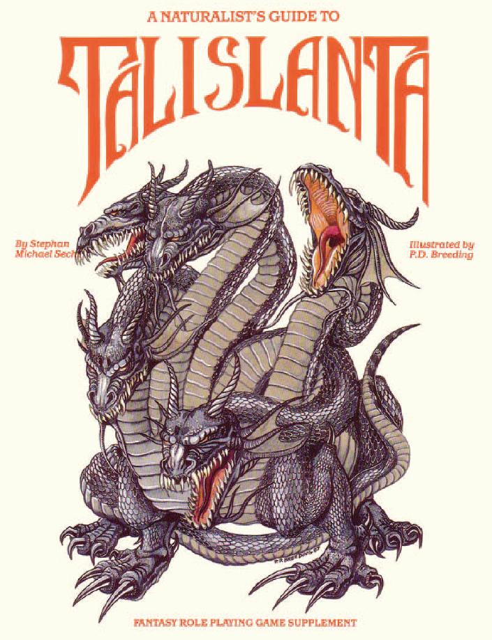 A Naturalist's Guide to Talislanta 1E