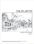 Talislanta Fantasy Roleplaying Sampler 4E