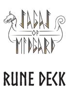 Sagas of Midgard Rune Deck