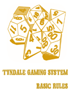 Tyndale Gaming System Character Sheet