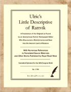Ulric's Little Descriptive of Rattvik – Somewhat Optimized for Dungeon World