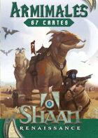 Shaan - Cartes d'Armimales