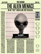 True Agenda The Alien Menace