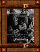 High Pass Chronicles