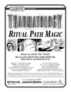 GURPS Thaumatology: Ritual Path Magic