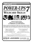 GURPS Power-Ups 7: Wildcard Skills