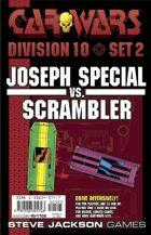 Car Wars Division 10 Set 2 - Joseph Special vs. Scrambler