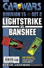 Car Wars Division 15 Set 2 - Lightstrike vs. Banshee