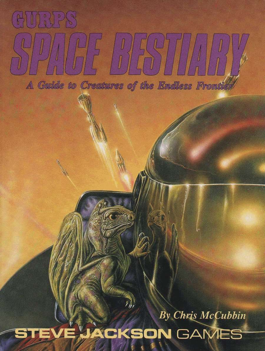 GURPS Classic: Space Bestiary