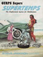 GURPS Classic: Supers: Supertemps